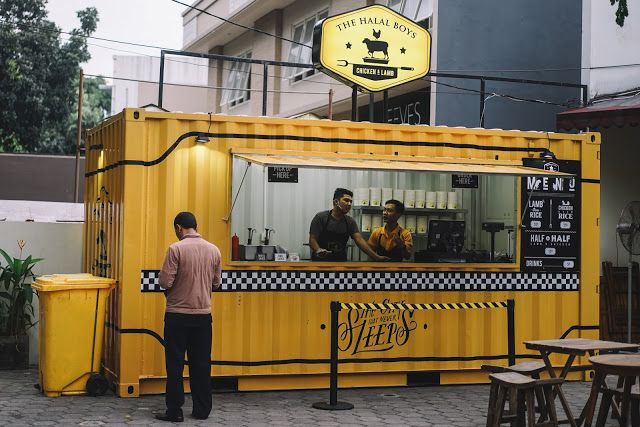 Indonesian Food And Travel Blogger Based In Jakarta The Halal Boys Jakarta Halal Shipping Container Office Indonesian Food