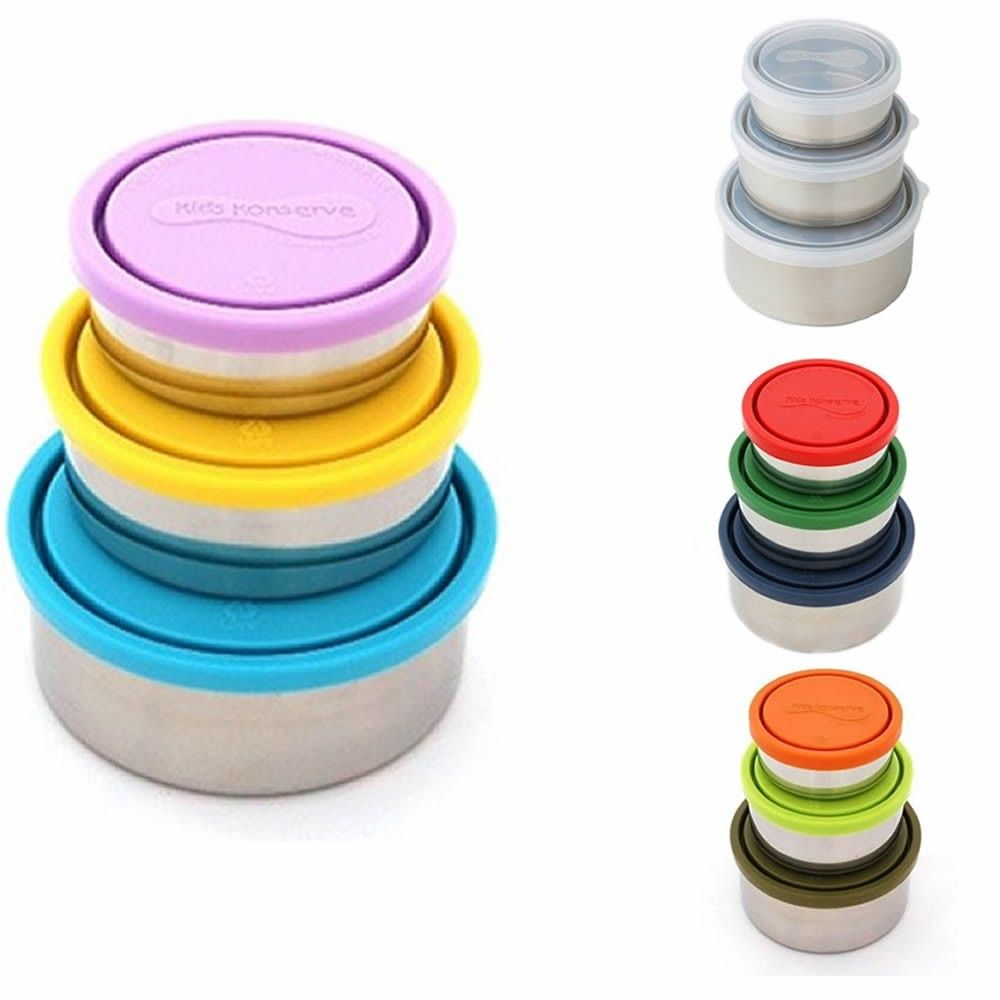 £25 U-Konserve at Babipur. A handy trio of stainless steel food containers, comes with 3 different sizes. Ready for your own treats and dips. Dishwasher safe and naturally BPA free. Ditch the plastic and switch to an eco-friendly picnic!