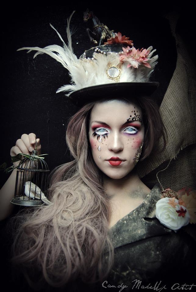 Kleurlenzen Halloween.Model Zoe Spakman Makeup Styling By Candy Make Up Artist