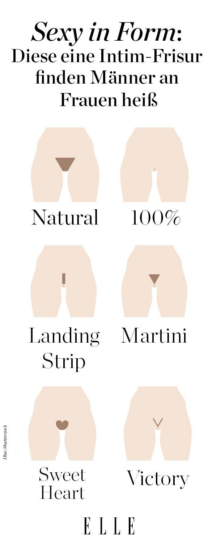 Intimfrisur Diese Form Finden Männer Sexy Beauty Trends