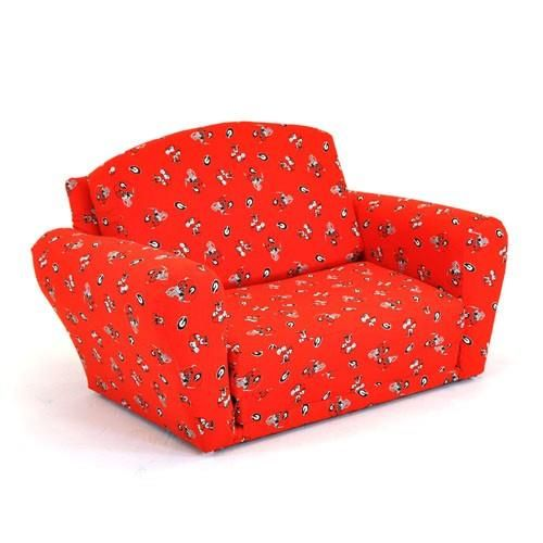 Kidz World Furniture Georgia Bulldogs Sleep_Sofa   KWF 1850 1 GA. Kidz