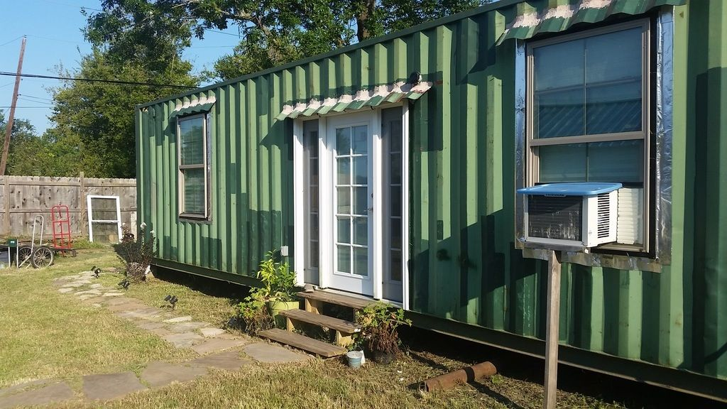 Tiny Container Home Tiny House For Sale In Houston Texas Tiny