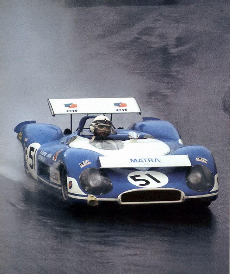 Matra 650 • Jack Brabham _ Jean Pierre Beltoise • Brands