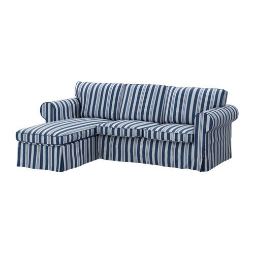 EKTORP Cover For Loveseat With Chaise IKEA Easy To Keep Clean With A  Removable,machine Washable Cover.