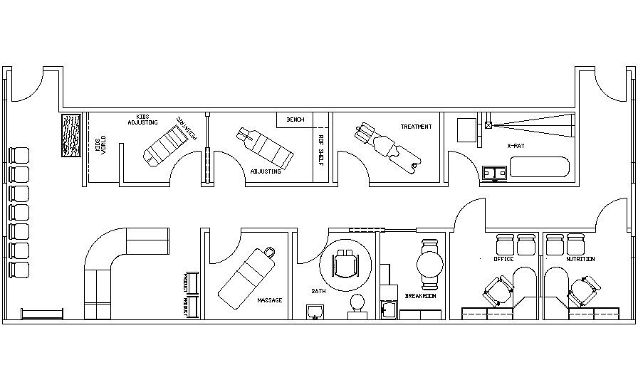 Office layout. Minor changes. No nutrition office, make that into ...