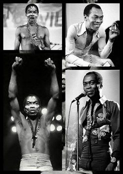 Fela! Fela Kuti, Nigerian musician, composer, pioneer of