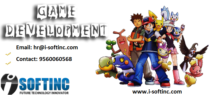I-softinc is a best mobile game development company in india