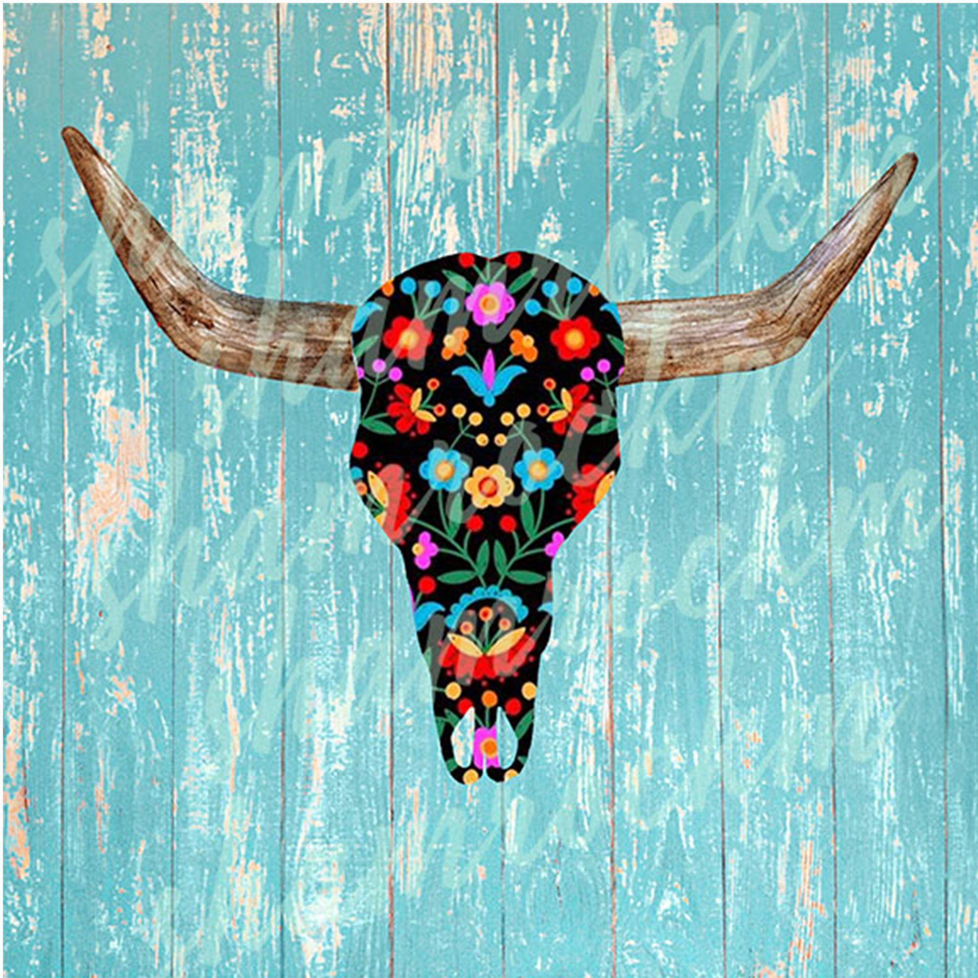 Cow Skull Watercolor Png 280350 Illustrations Design Bundles In 2021 Cow Skull Watercolor Graphic Illustration Design