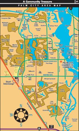 Palm City Florida Map.Palm City Florida Map Www Alexasellshomes Com Palm City Florida