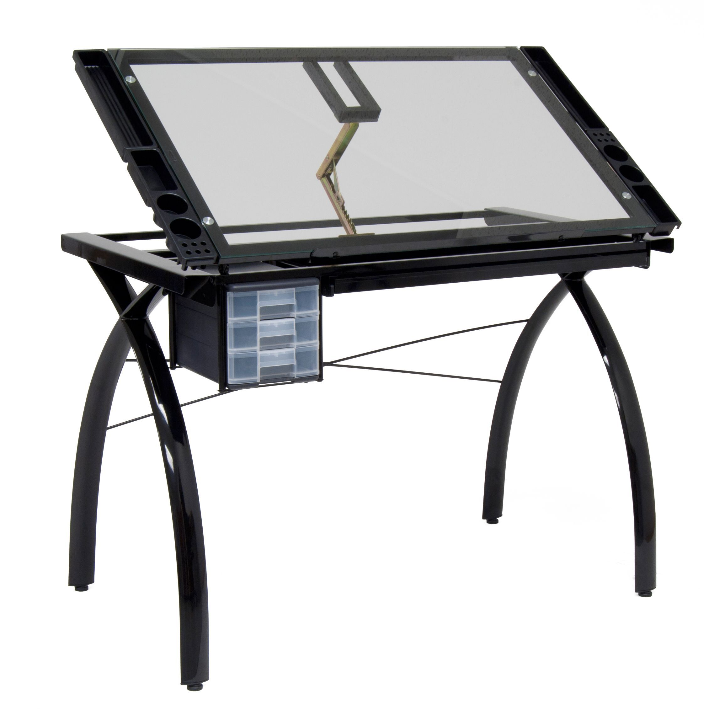 Superieur Studio Designs 10072 Futura Craft Station, Black/Clear Glass The Perfect  Multi Functional Contemporary Table: Studio Designsu0027 Futura Craft Station  Is Great ...