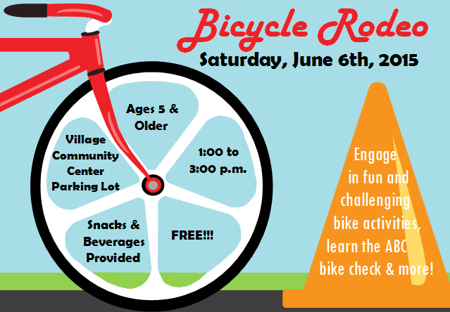 Hilton Parma Recreation Bicycle Rodeo Flyer Flyers For