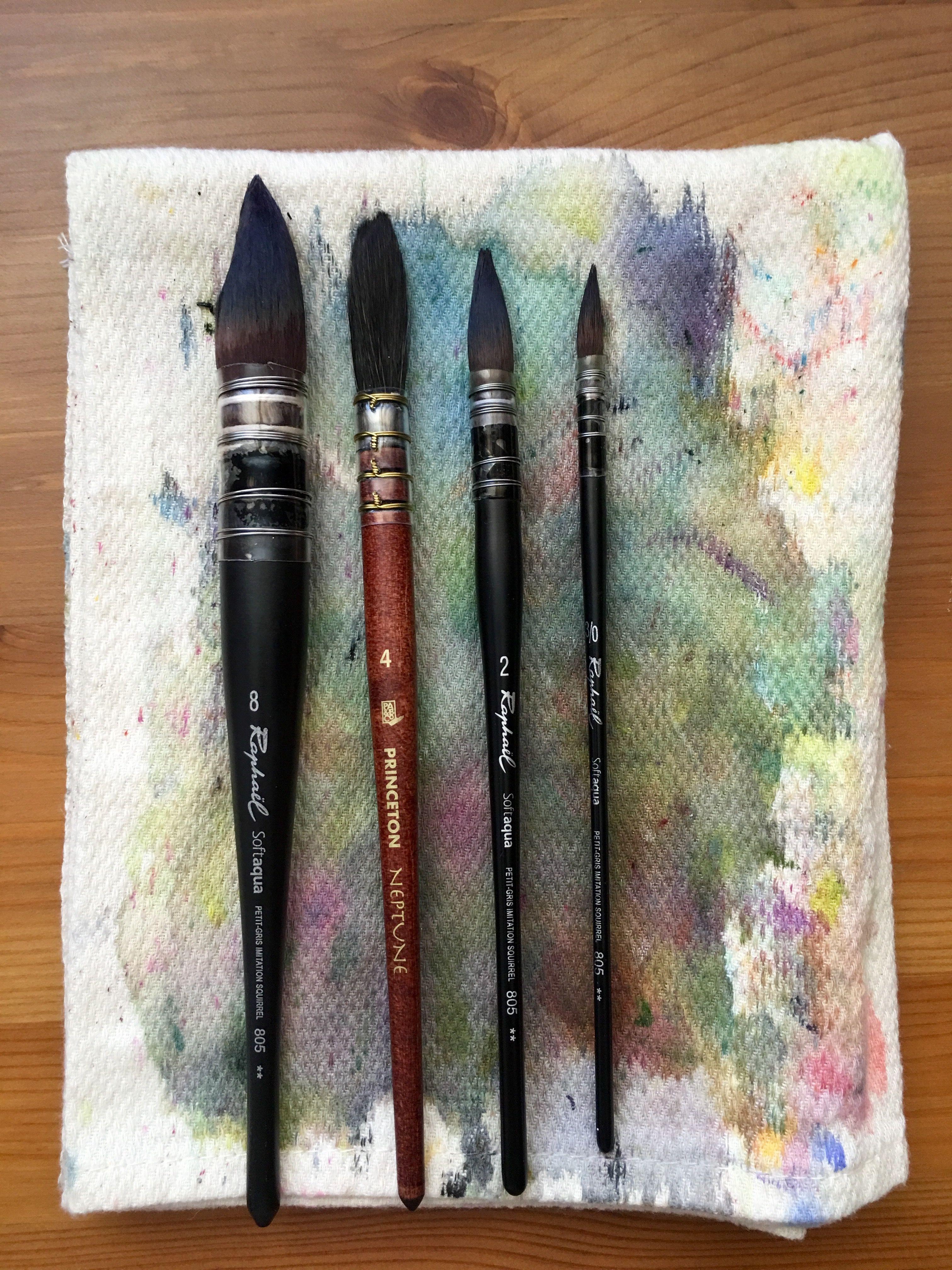 Doodlewash review watercolor brushes best watercolor