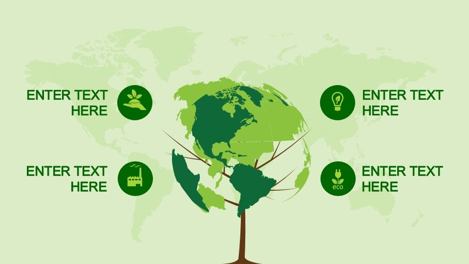 Animated EcoFriendly Powerpoint Template  Interactive