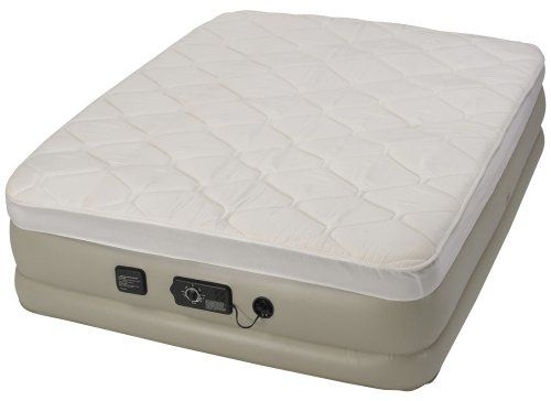 Serta Raised Bed with Never Flat Pump - http://www.campingpillows.com/uncategorized/serta-raised-bed-with-never-flat-pump/ - #Bed, #Flat, #Never, #Pump, #Raised, #Serta, #With - The Serta Raised Air Bed with Never Flat™ technology makes getting into and out of bed easier and just might be the most comfortable air bed you've ever slept on.  Able to maintain it's pressure throughout the night, Never Flat™ elimates sagging and loss of air pressure that is so comm