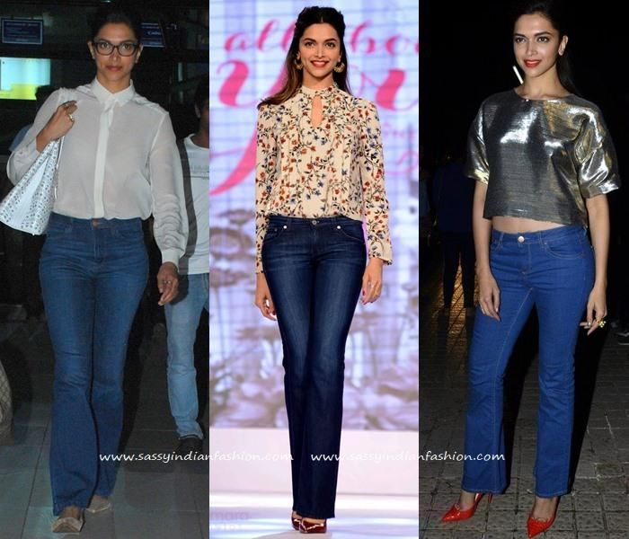 8 Deepika Padukone Inspired Ways to Style your Jeans ...