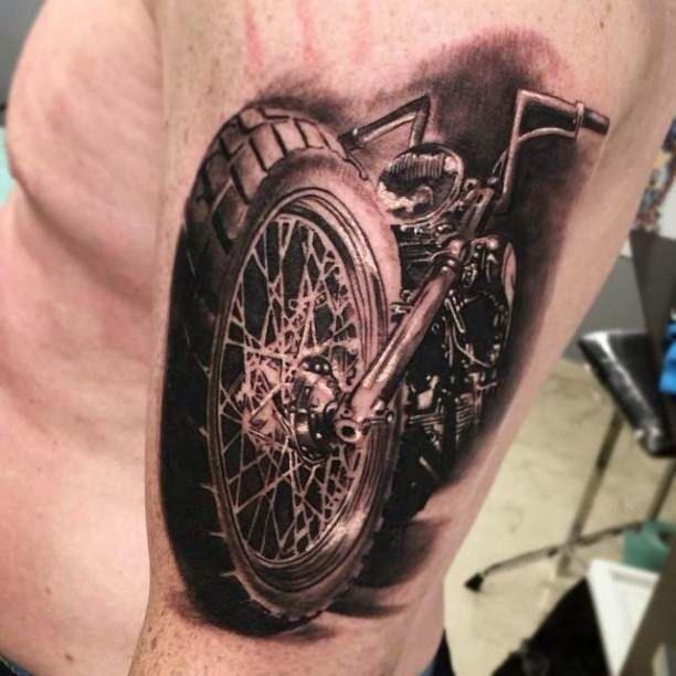 Moto Guzzi Eagle Tattoo