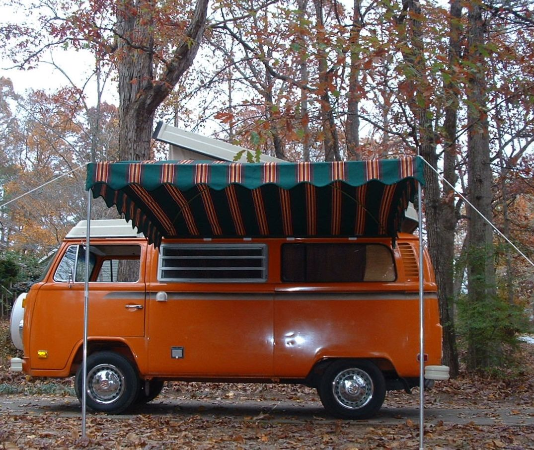 Westfalia Arched Awning For A VW Bus Vintage Trailer Awnings By Kristi  Dfoster@bellsouth.