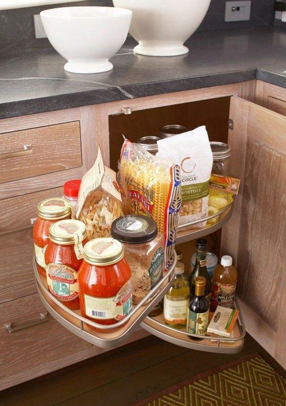Best 30 Best Ways To Organize Kitchen Cabinet Efficiently 640 x 480