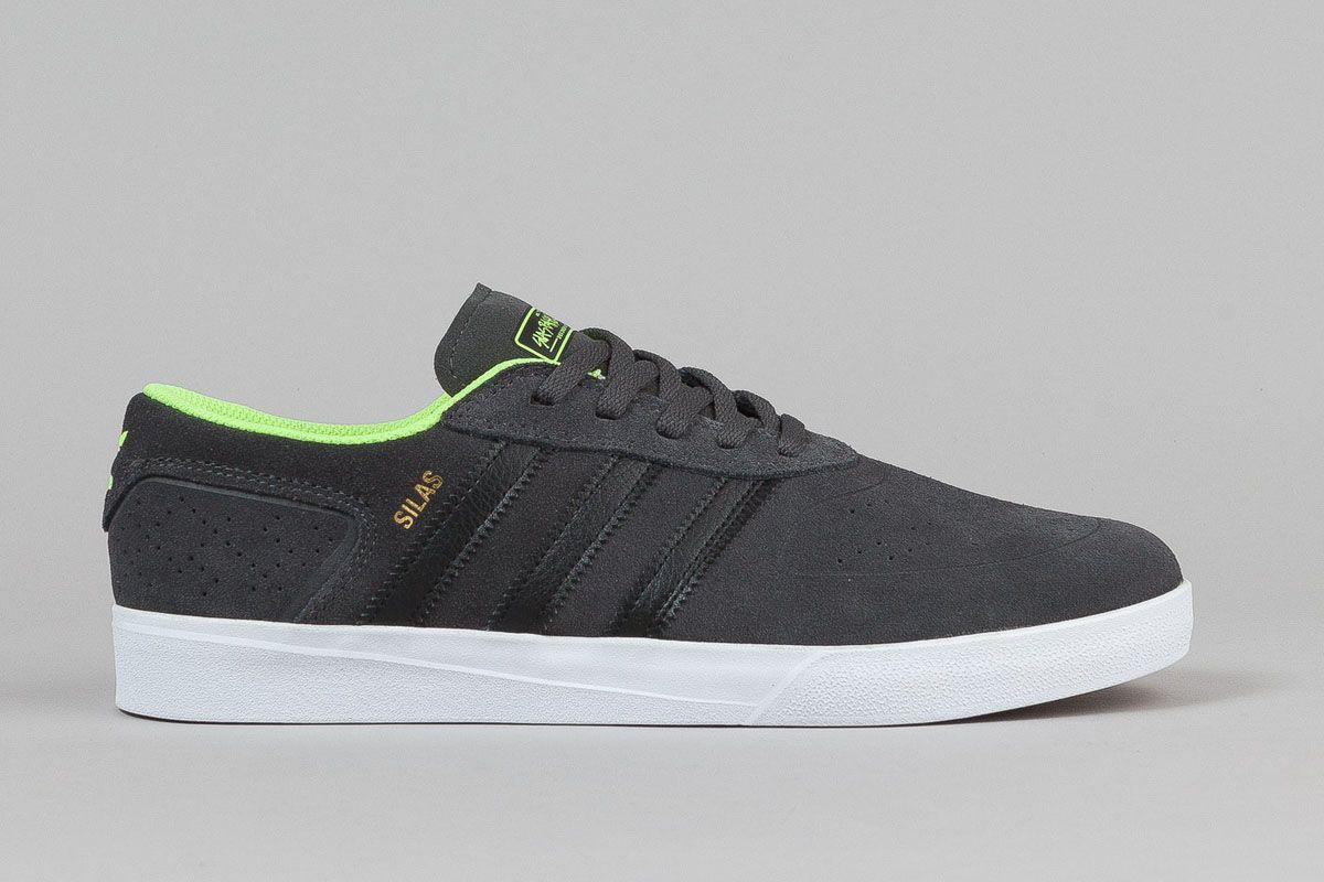 Marken Schuhe Online:Herren Adidas Silas Vulc Schwarz Whte
