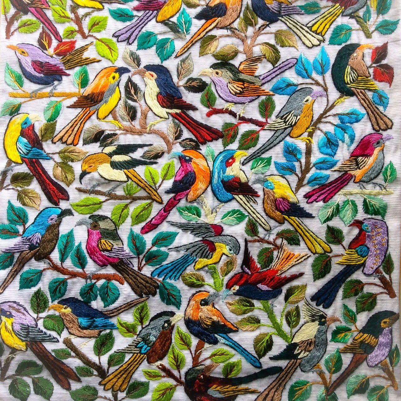 Entrevistamos a Gimena Romero: bordadora mexicana. Click to enlarge