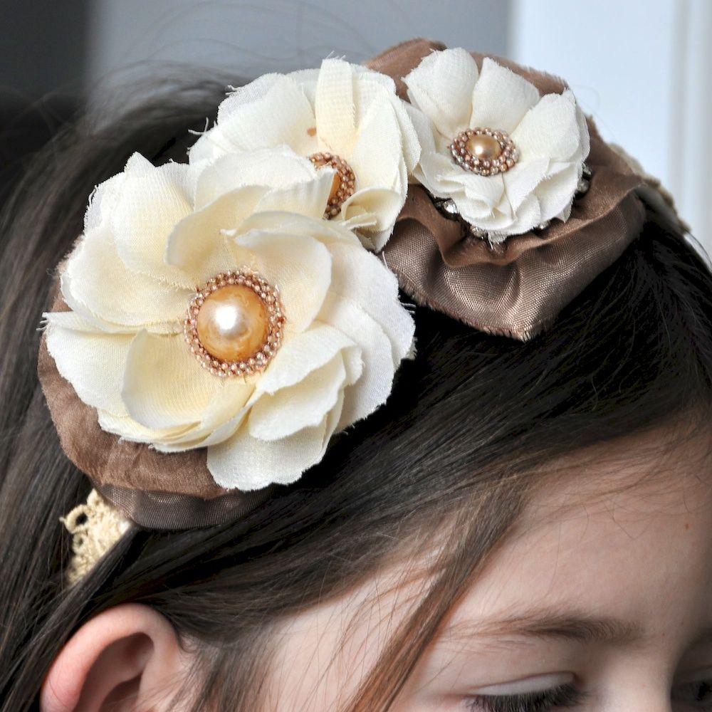 Altered Headband *Prima* - Scrapbook.com