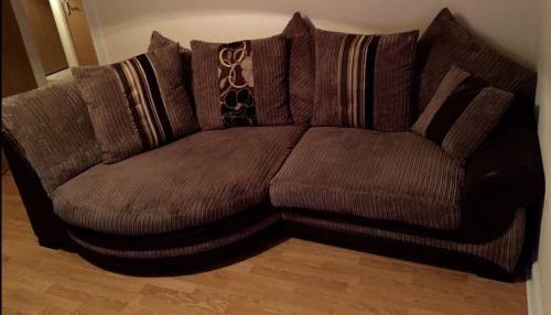 Delightful Kirk Cuddle Sofa LHF Scatter Back   Living Room Ideas   Pinterest   Cuddle  Sofa, Fabric Sofa And Sofa Shop