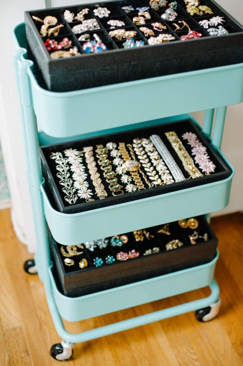 Ikea Hacks How To Organize Vintage Statement Earrings And Jewelry