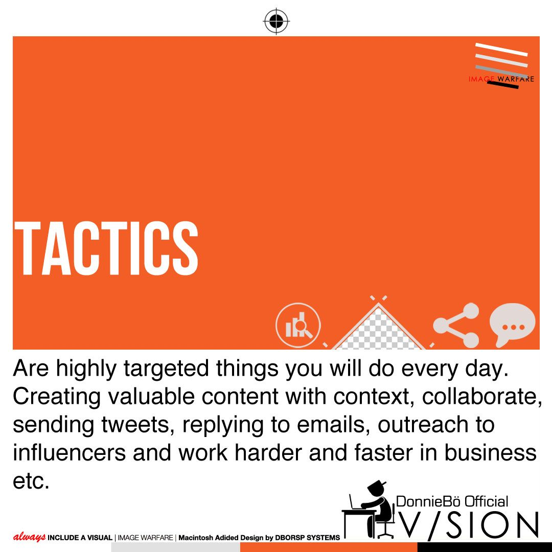 Lexicon Of The Ends   Marketing Tactics: Without A Strategy   U0027The Planu0027  Tactics Are Futile. Define Your Target Market, Then Unleash Your Visual  Narrative: ...
