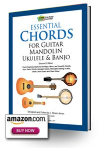 Essential Chords Book Nd Edition Guitar Mandolin Ukulele