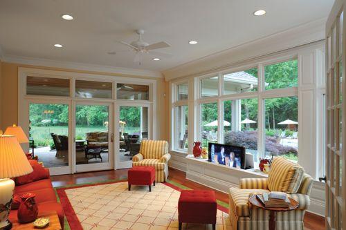 Small Tv Sunroom Google Search Sunrooms Off Kitchen Pinterest