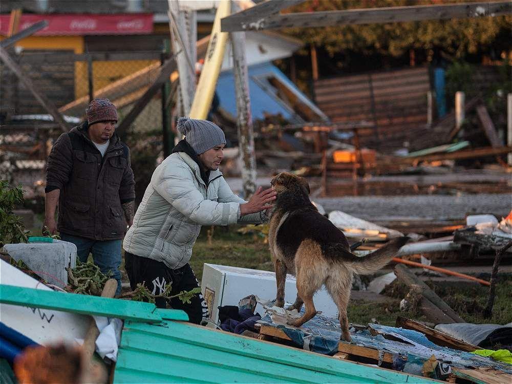 Así amaneció Chile luego del terremoto
