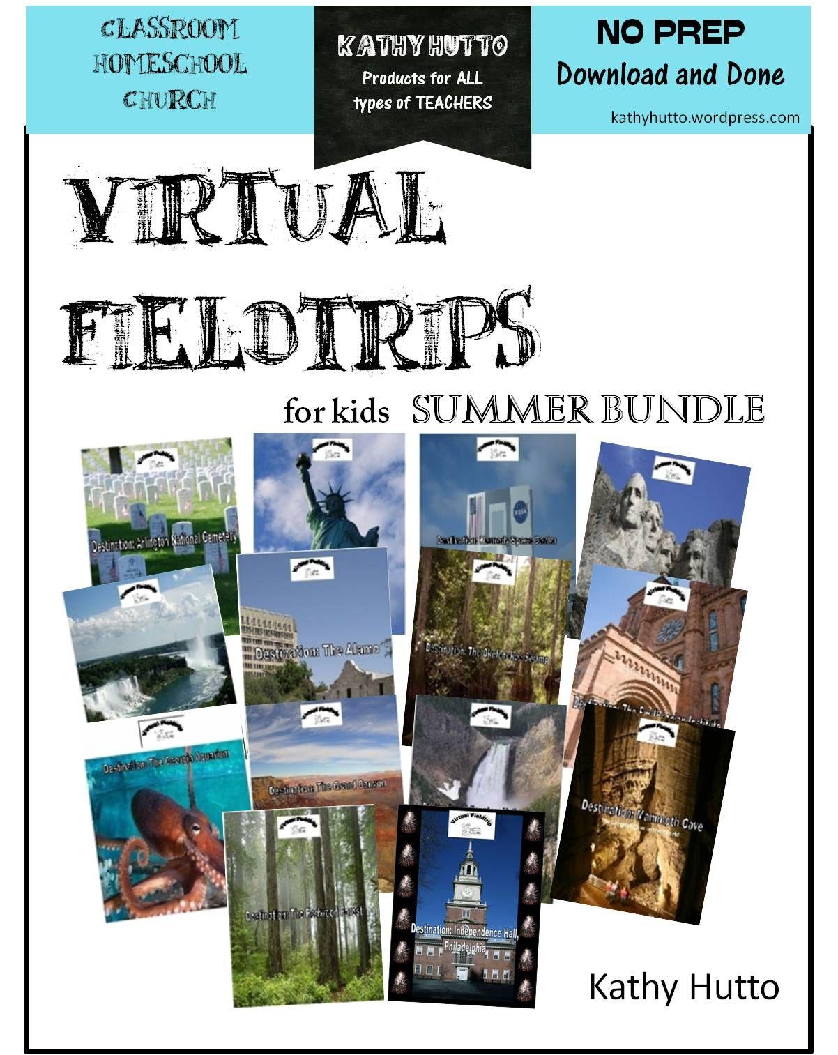 Summer Virtual Fieldtrips