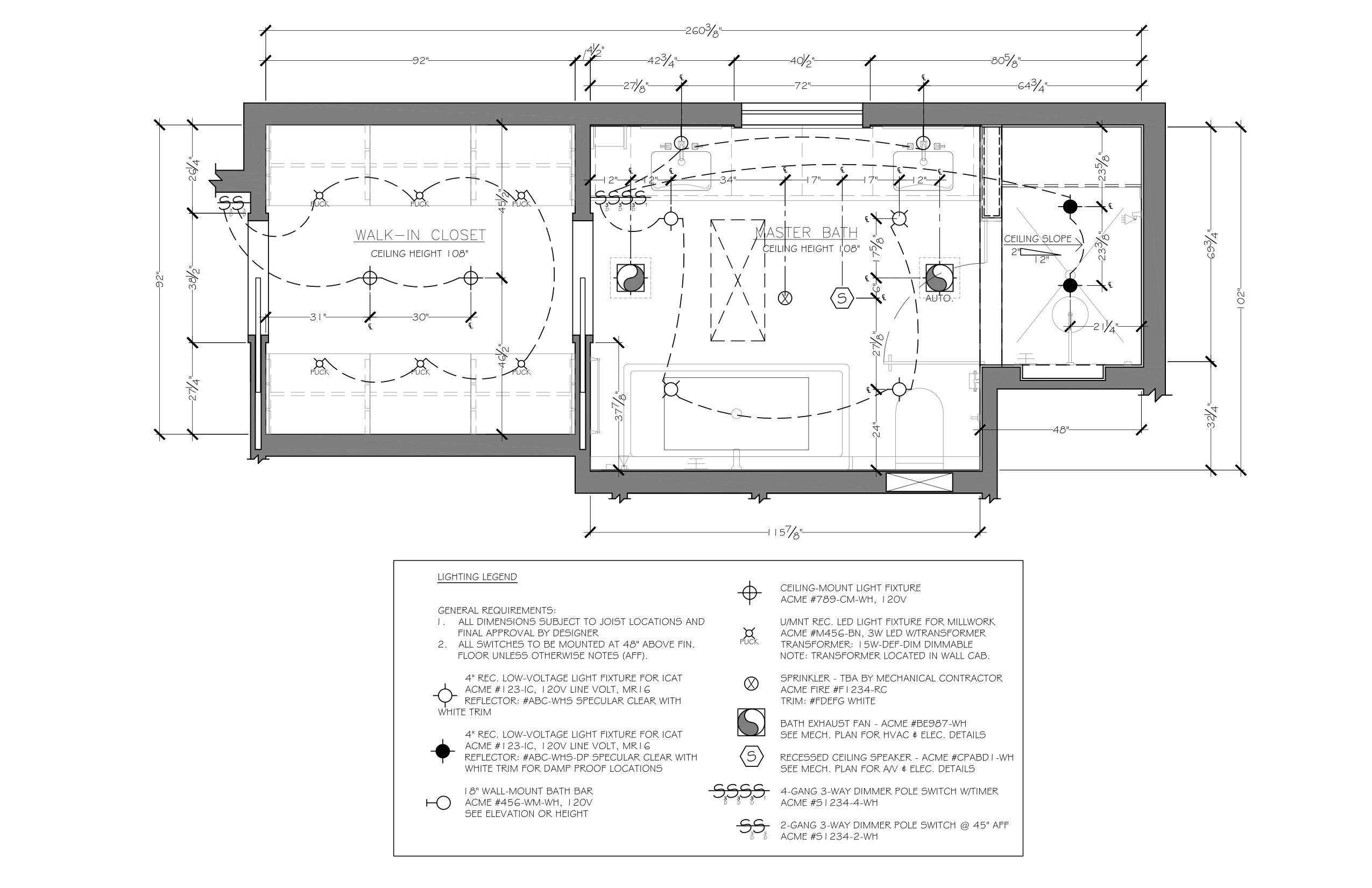 medium resolution of bathroom reflected ceiling plan example c 2013 corey klassen ckd used under permission from the national kitchen bath association