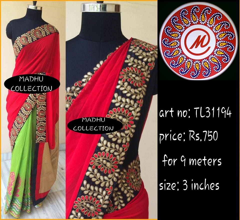 Saree blouse design cutting and stitching pin by madhu laces on laces  pinterest