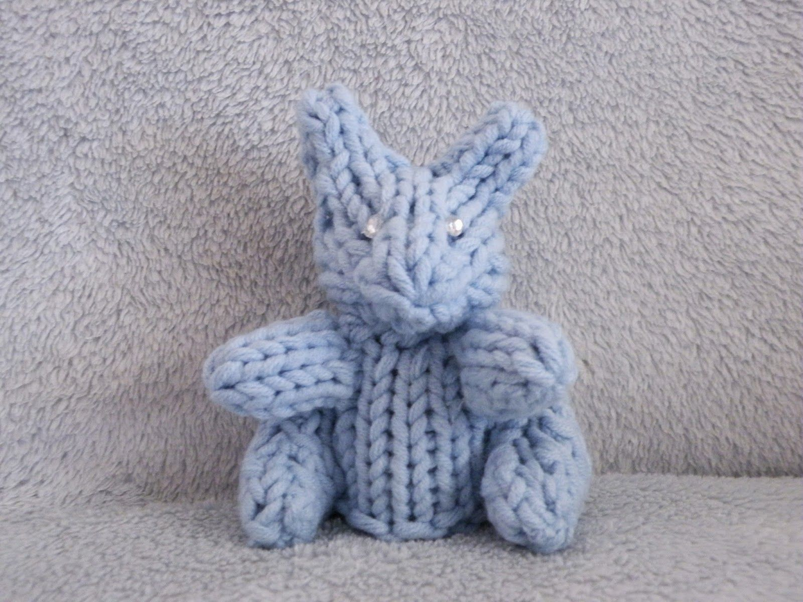 Amigurumi Loom Patterns : The loom muse : how to loom a mini rabbit loom knitting stuffed