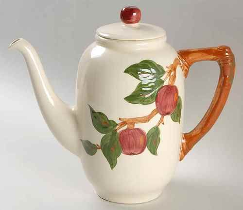 Franciscan APPLE (AMERICAN) Coffee Pot $90