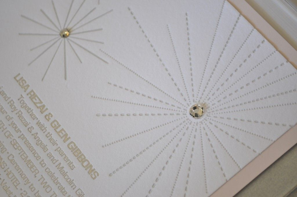 Wedding Invitation Printing Toronto: Lucite And Letterpress Make A Luxurious Combination For