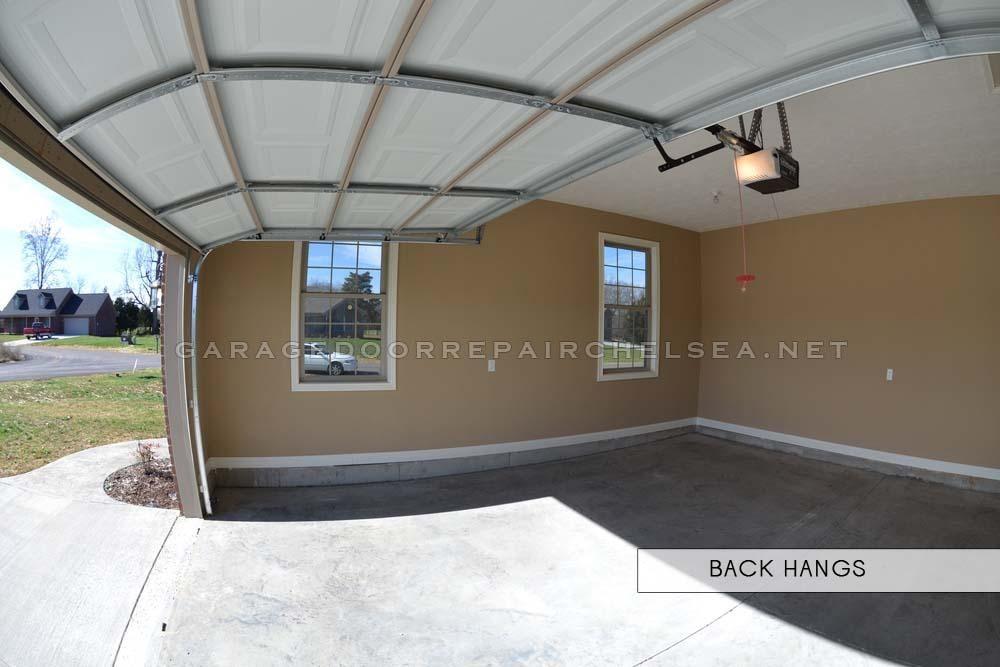 Garage Door Back Hangs by Chelsea Speedy Garage Service