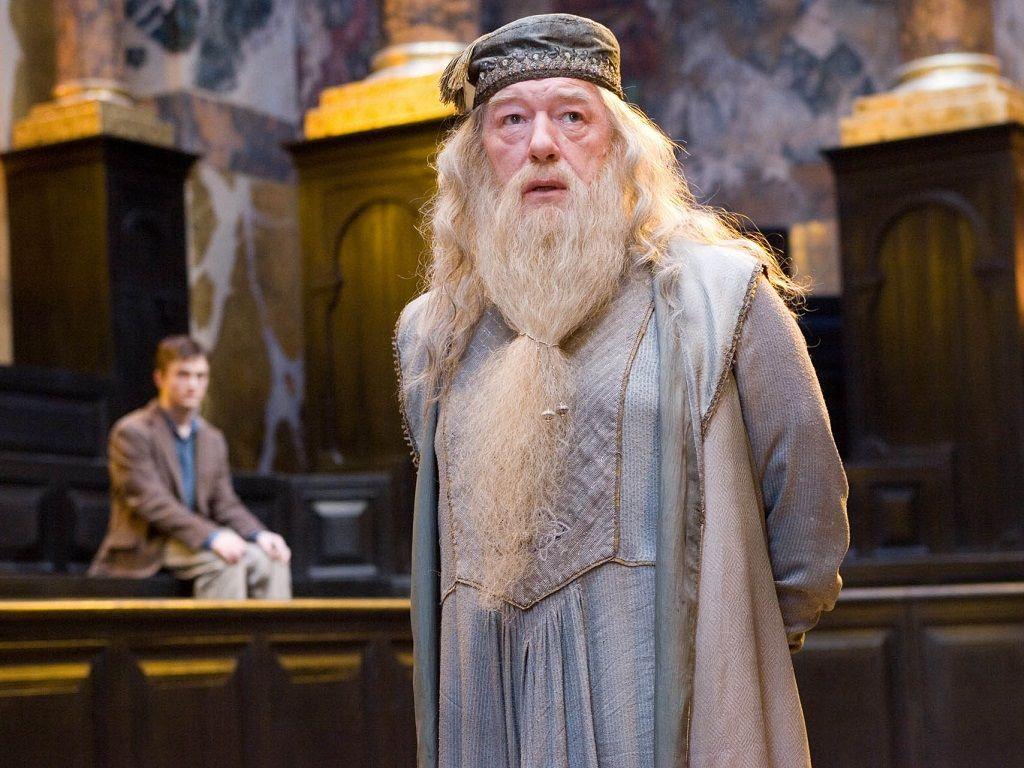 Albus Dumbledore Wallpaper Hogwarts Professors Wallpaper