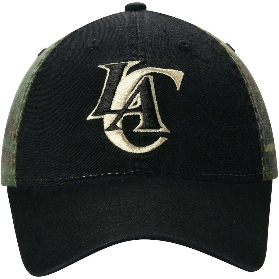 74290996fb7 Mens LA Clippers adidas Black Camo Team Nation Adjustable Slouch Hat  adidas  Black