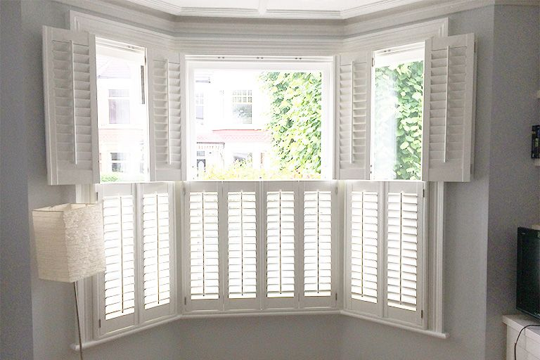 Fresh Plantation Shutters for Basement Windows