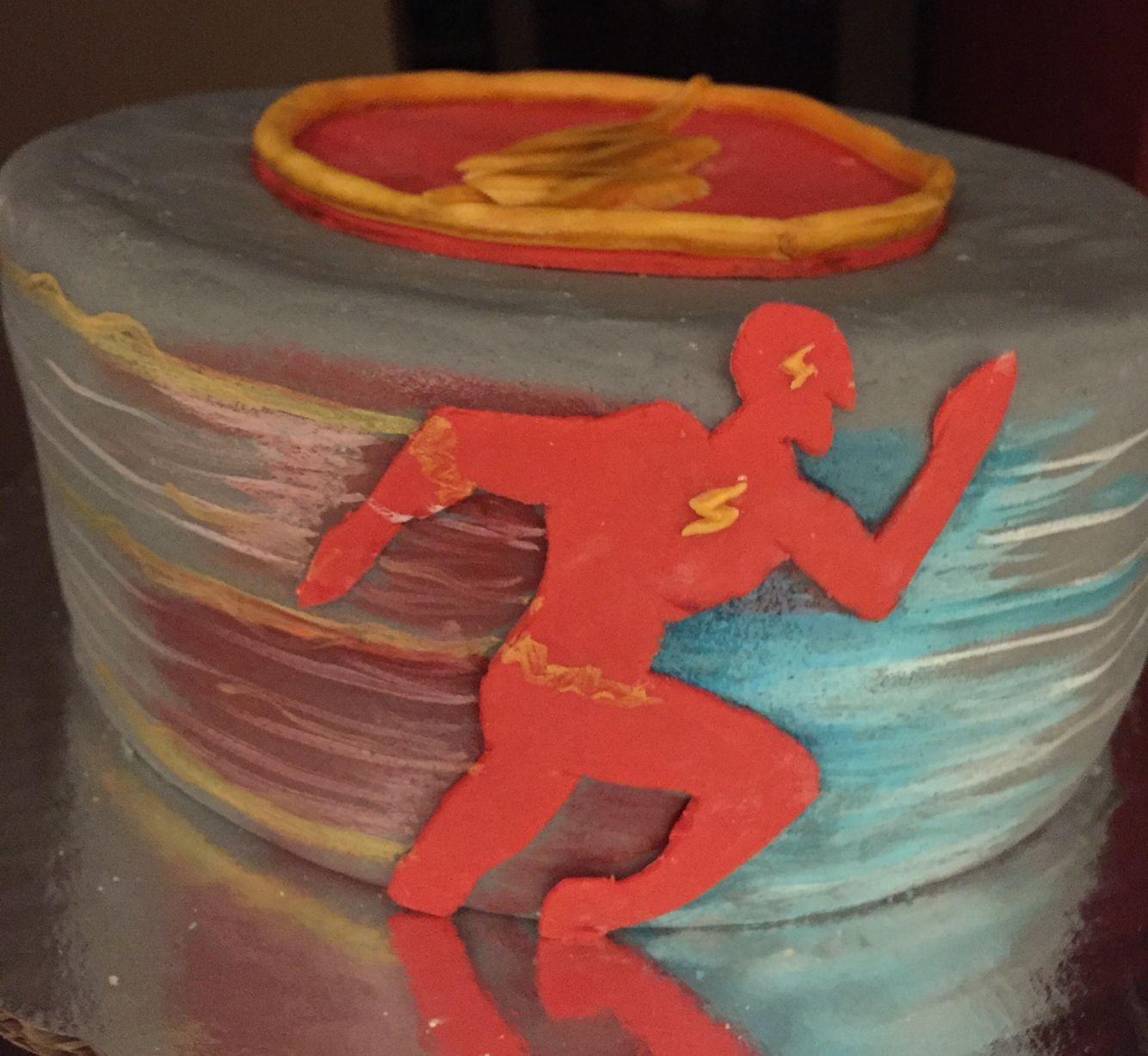 The Flash Cake Scouts Pinterest Cake Birthdays and Birthday cakes