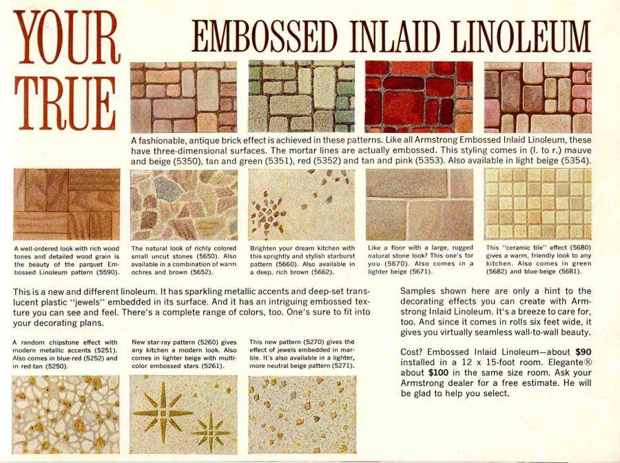 Retro Flooring Awesome Vintage Designs