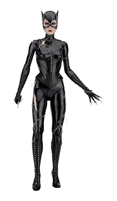 Black Cat Woman Hooded Ears Mask Batman Returns Michelle Pfeiffer Superhero