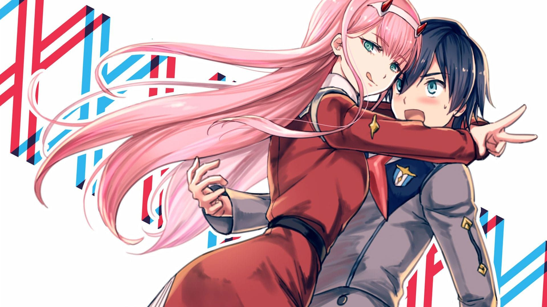 DARLING in the FRANXX Hiro and Zero Two (With images