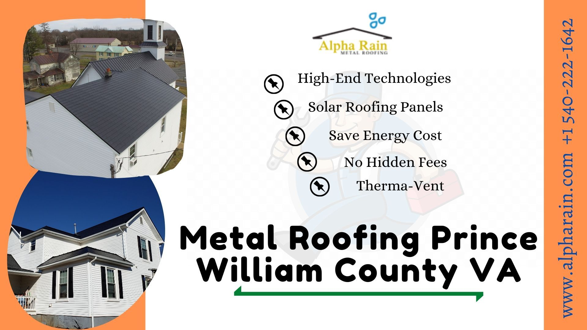 Alpha Rain Uses Highly Innovative And High End Technologies So That We Can Offer Great Quality Roofing To The Househol In 2020 Roofing Metal Roof Save Energy