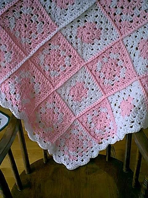 Free Easy Baby Crochet Patterns Crochet Square Baby Blanket