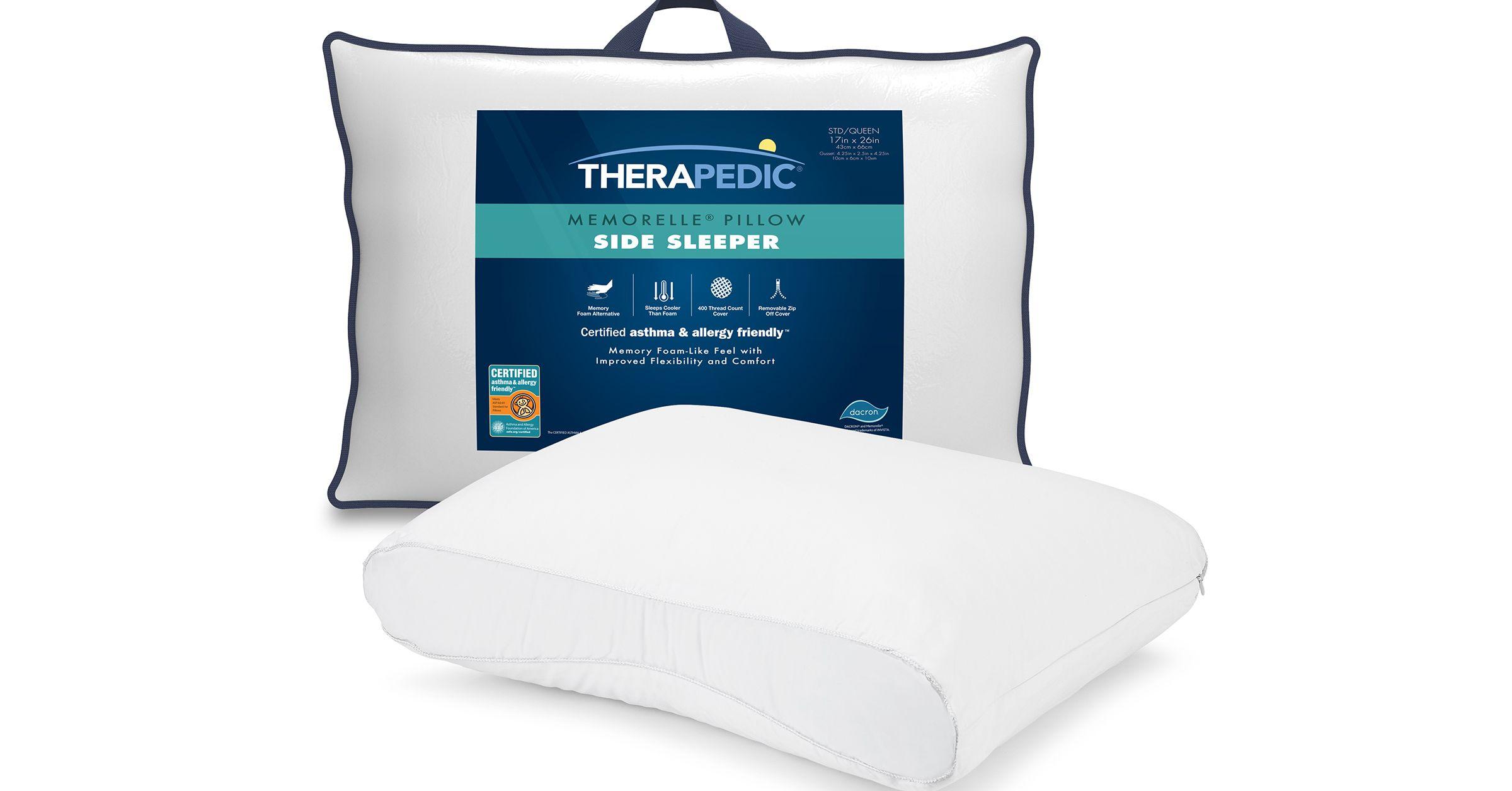 The All New Therapedic Invista Memorelle Pillows Are Certified