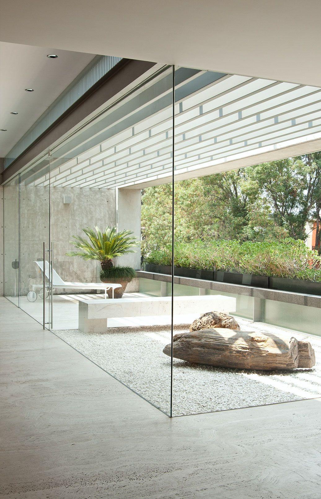 ?Ab Ambiance Salle De Bain ~ Bel Exemple De Maison Ouverte Sur L Ext Rieur Spa Pinterest