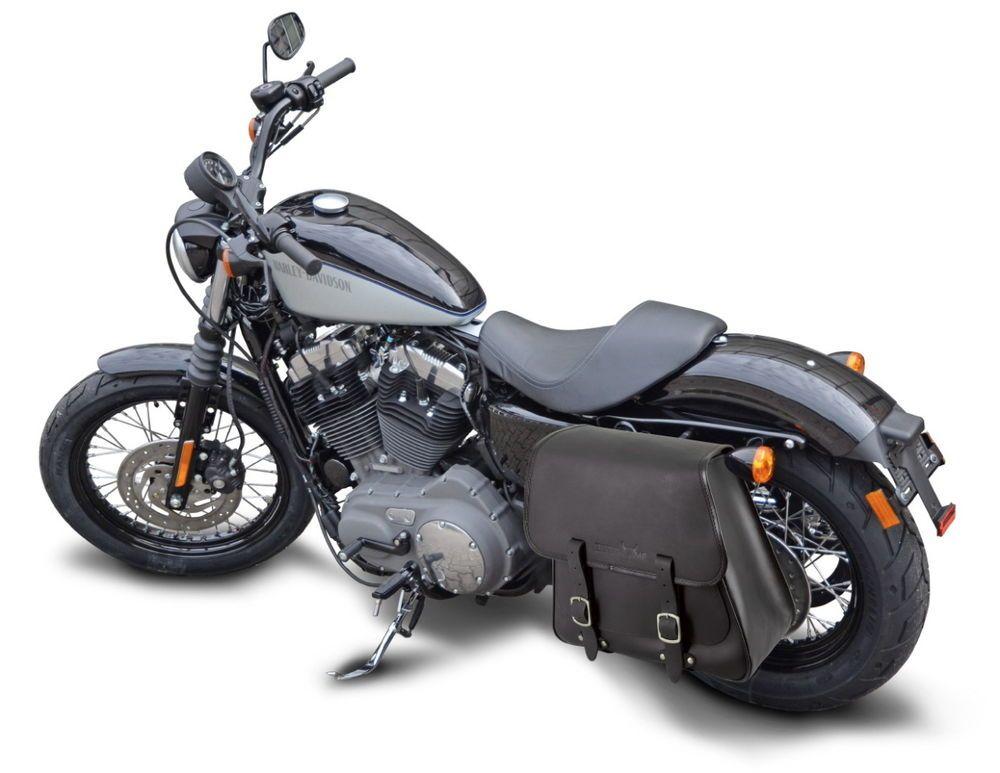 Saddlebag Harley Davidson Sportster XL (1995-2015) 28L solo bag bike